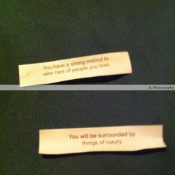 Chinese Cookie Fortune